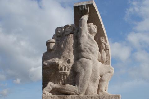 Ajaccio - Monument de la Résistance
