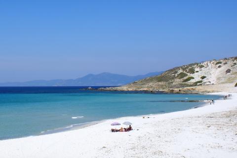 La plage de Saleccia