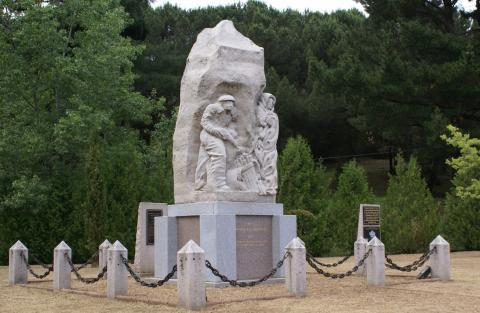 Le Monument de la Résistance de Lévie