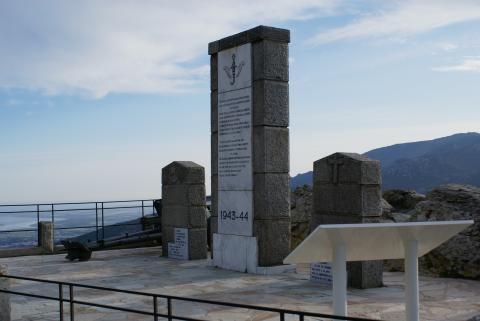 """Le monument du """"Col des Goumiers"""""""