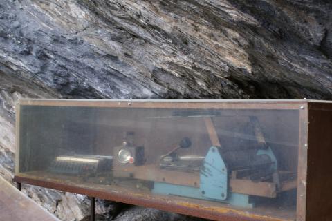 Objets de la résistance conservés à la Grotte de Porri