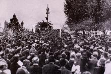 Le général de Gaulle à Ajaccio