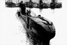 Le sous-marin britannique HMS Tribune